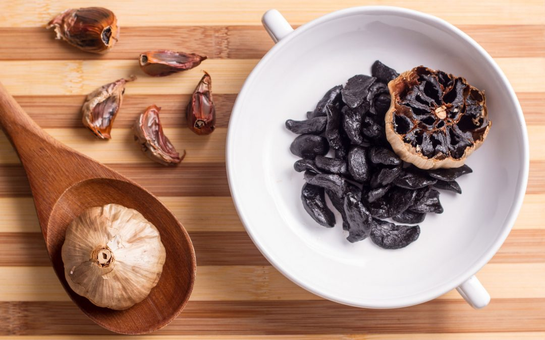 Alho Negro alimento de 2018