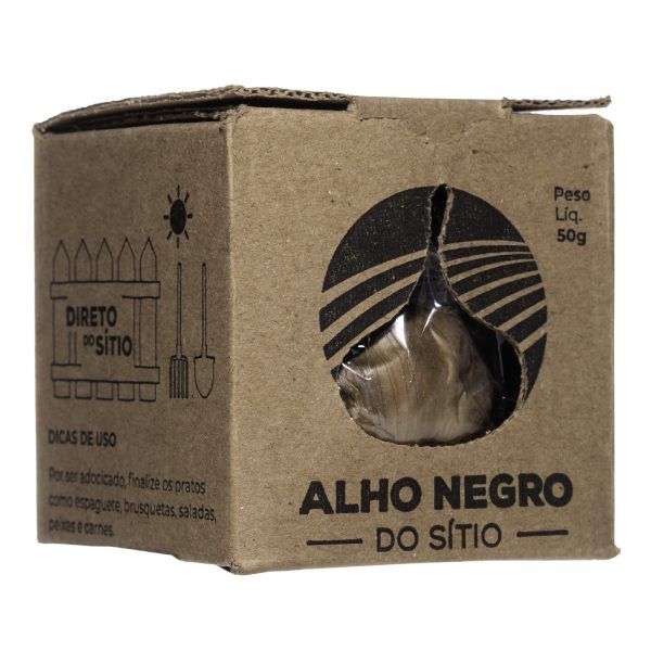 Alho Negro do Sítio 50g