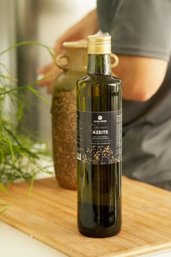 azeite alho negro