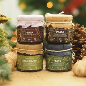 kit 4 produtos alho negro