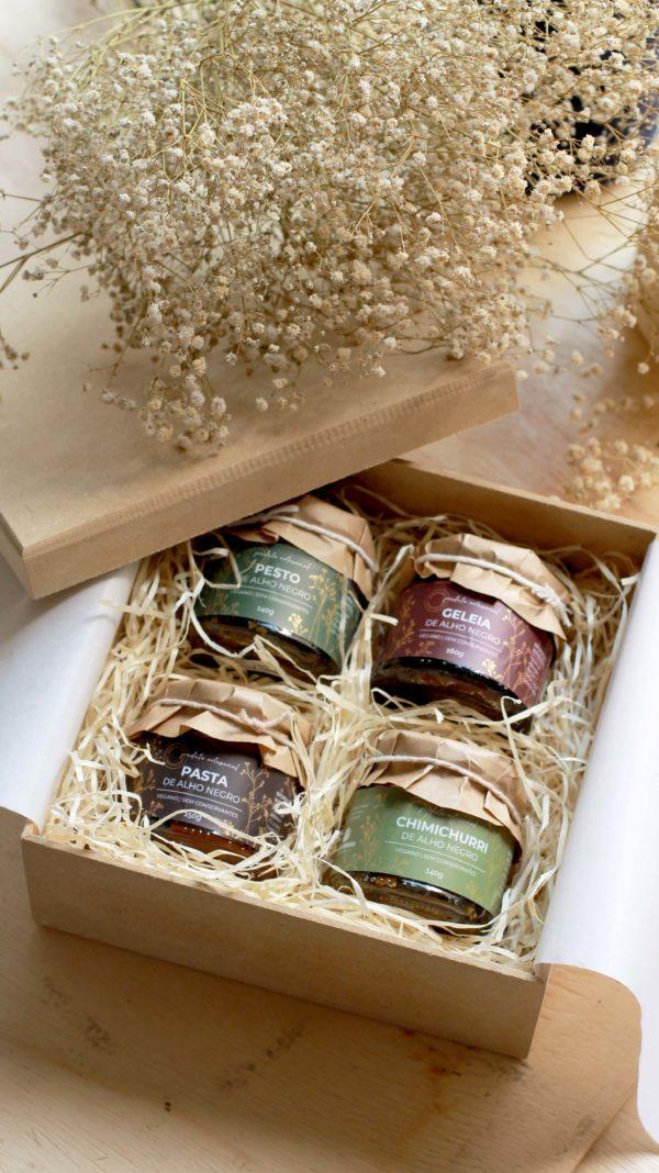 kit presente gourmet mimos